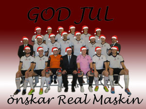 Real-Maskin-Julkort